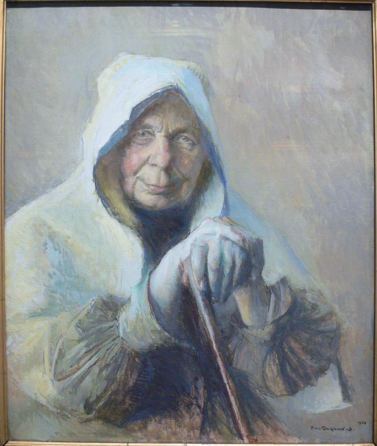 La vieille Julie de Quincey par Dagnan-Bouveret - Musée Georges-Garret